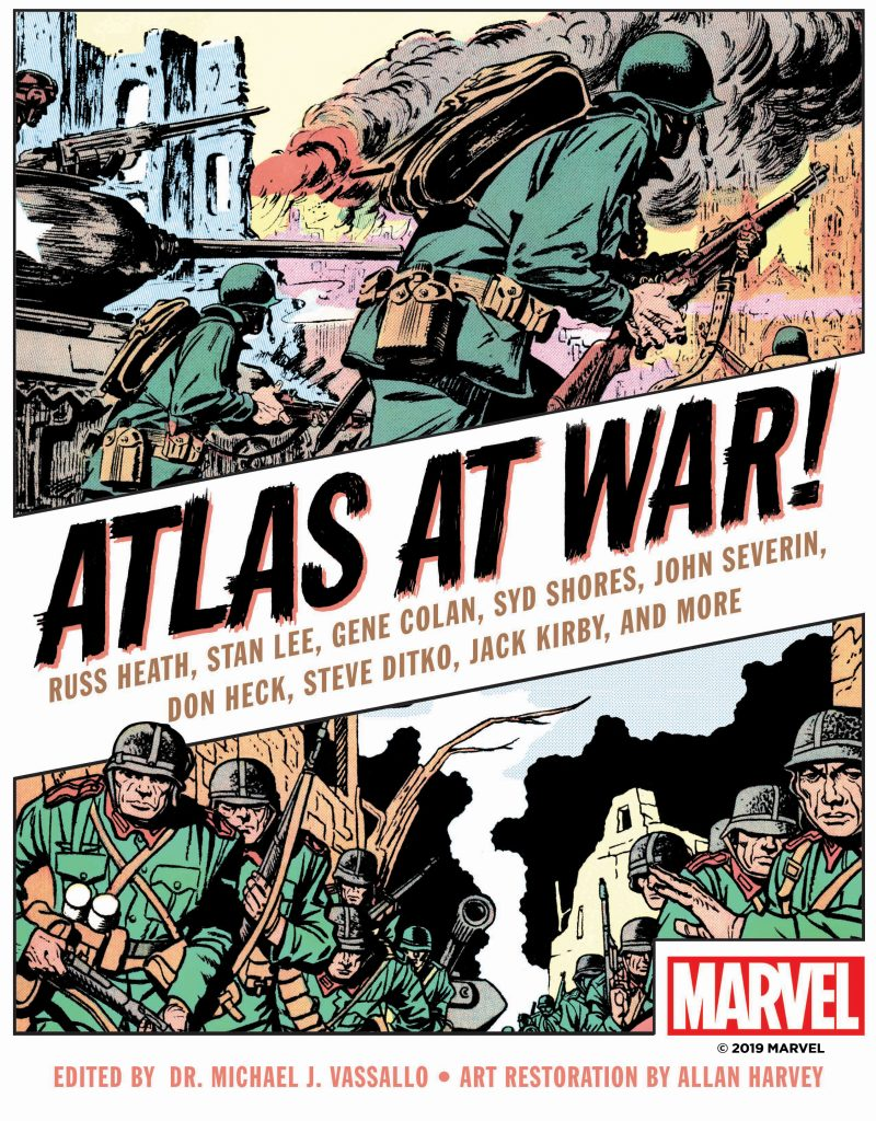 Book Cover: Atlas at War!