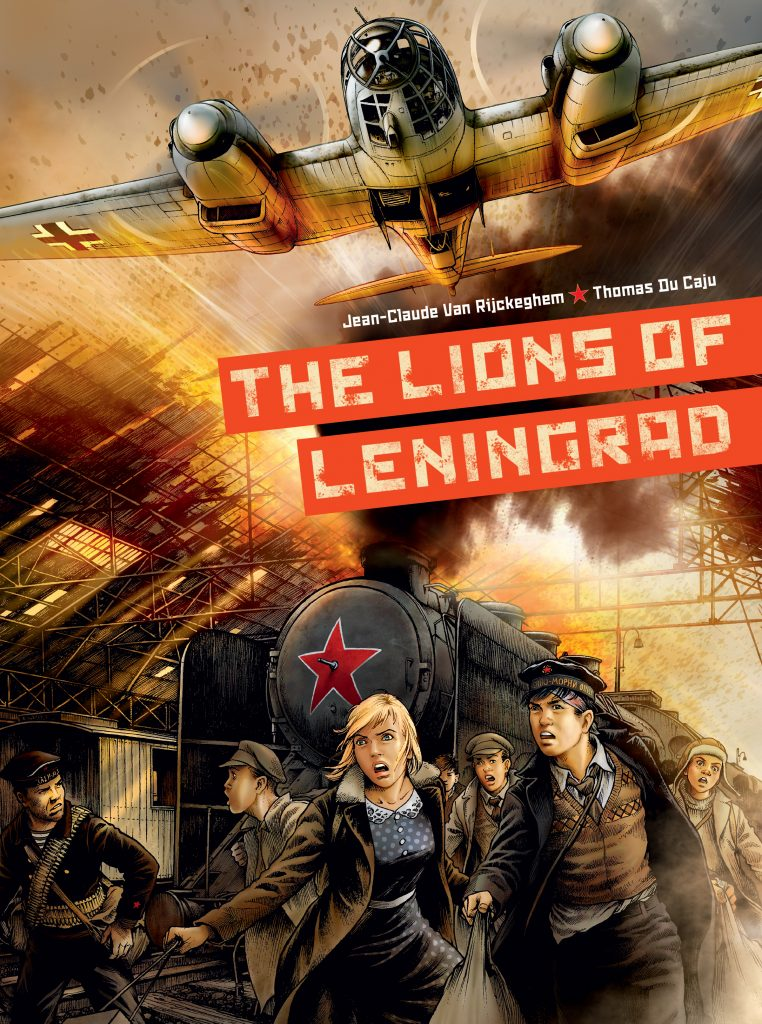 Book Cover: The Lions of Leningrad